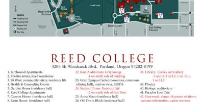 Harta e reed College